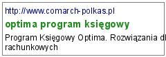 optima program księgowy